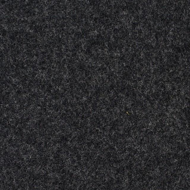ウール×無地(チャコールグレー&ライトグレー)×Wフェイスビーバー_全3色 イメージ1