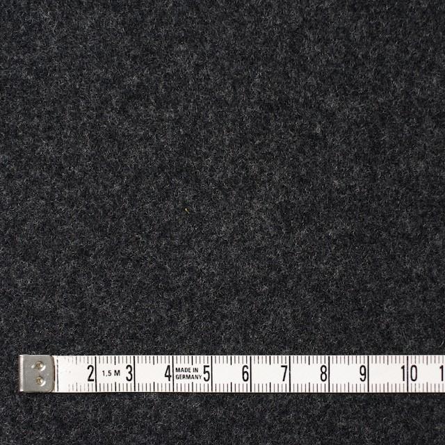 ウール×無地(チャコールグレー&ライトグレー)×Wフェイスビーバー_全3色 イメージ4