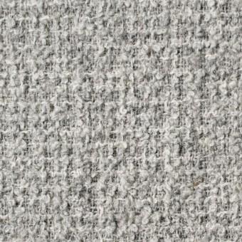 ウール×無地(ライトグレー)×ファンシーツイード サムネイル1