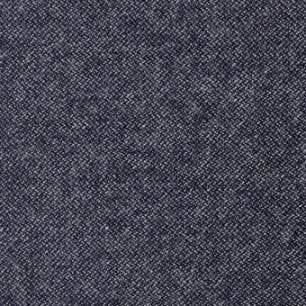 ウール×無地(ブルー)×ツイード サムネイル1