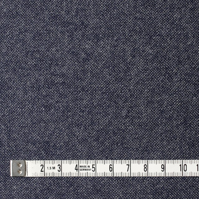 ウール×無地(ブルー)×ツイード イメージ4