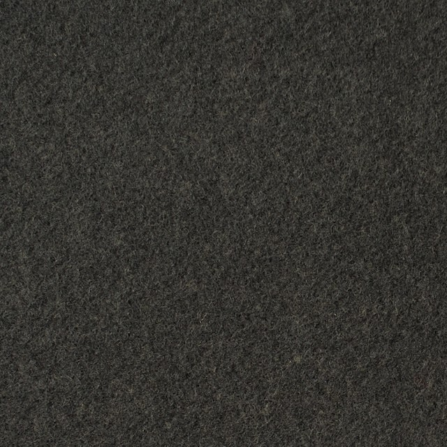 ウール×無地(オリーブグリーン)×メルトン イメージ1