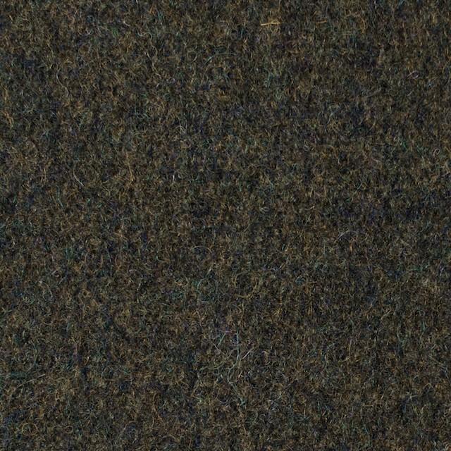 ウール×無地(ダークカーキグリーン)×メルトン イメージ1