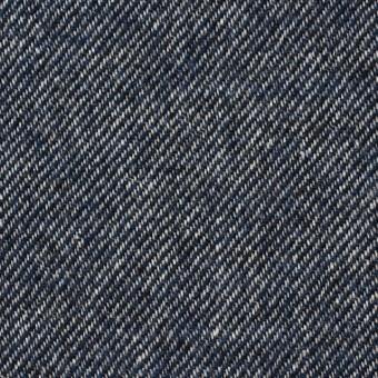 ウール&コットン×無地(ネイビーブルー)×ビエラ サムネイル1