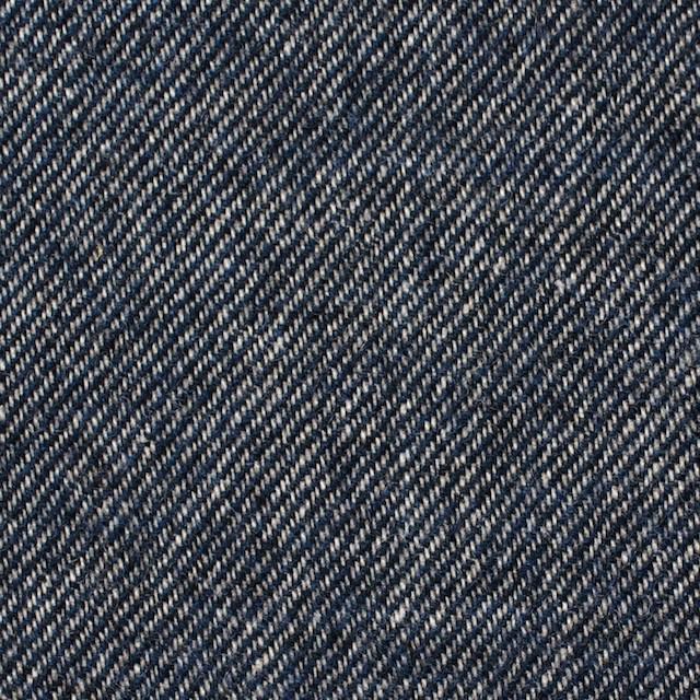 ウール&コットン×無地(ネイビーブルー)×ビエラ イメージ1