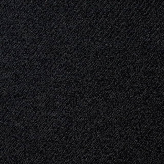 ウール×無地(ブラック)×サキソニー イメージ1