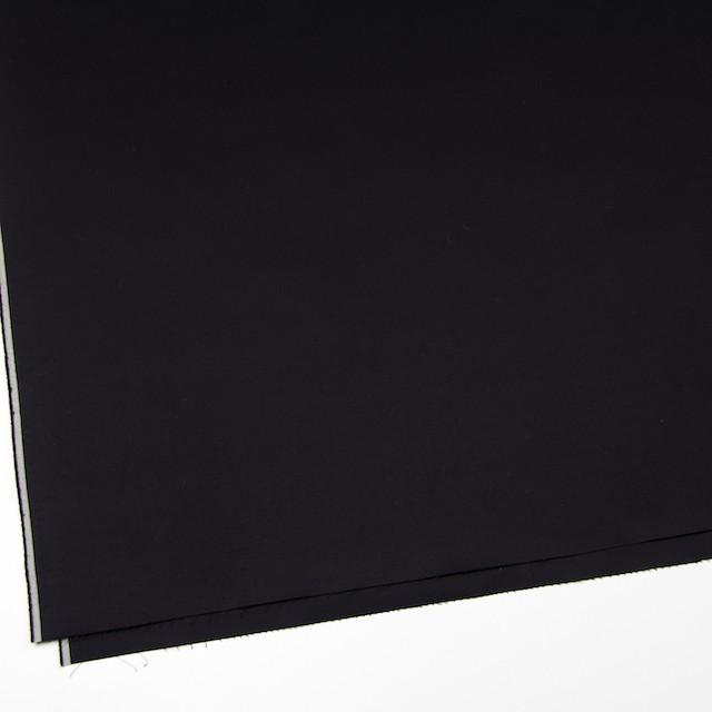 コットン×無地(ブラック)×ギャバジン イメージ2