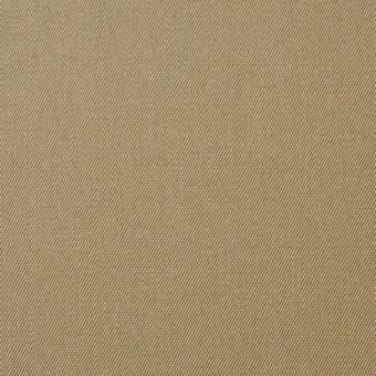 コットン×無地(ライトカーキベージュ)×チノクロス_全5色
