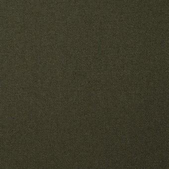コットン×無地(カーキグリーン)×チノクロス_全5色