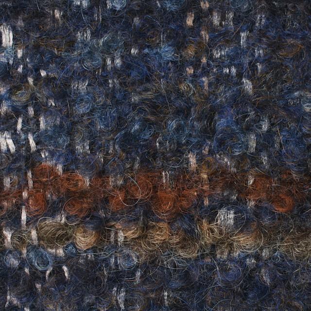 ウール&シルク×ミックス(ブルー)×ファンシーツイード_全2色_イタリア製 イメージ1