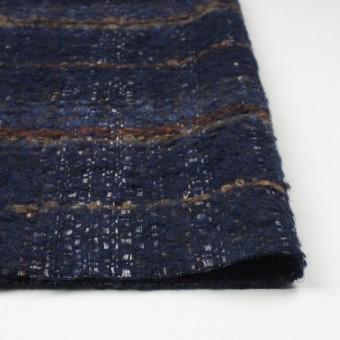 ウール&シルク×ミックス(ブルー)×ファンシーツイード_全2色_イタリア製 サムネイル3