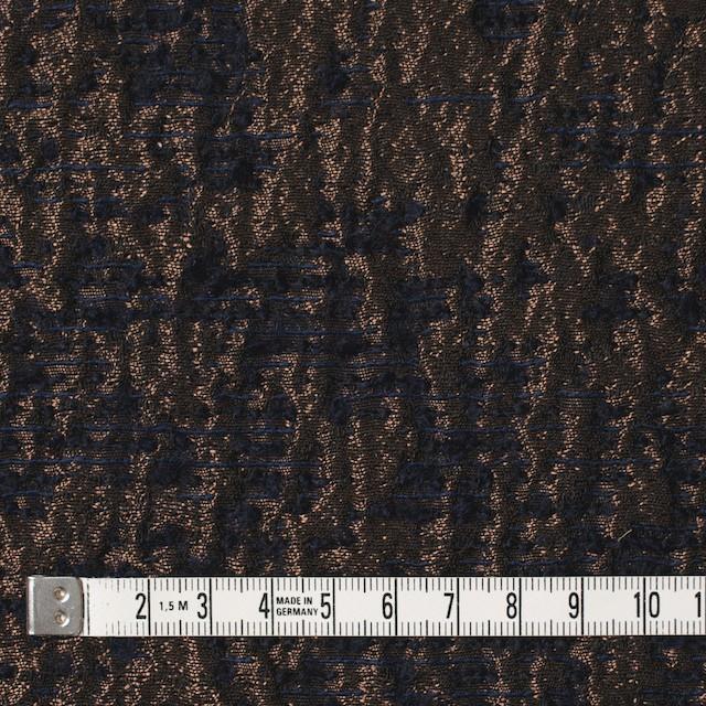ポリエステル&ウール混×幾何学模様(アンティークゴールド)×ジャガード イメージ4