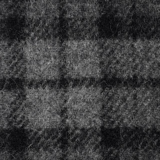 ウール&ナイロン×チェック&無地(グレー)×カルゼ&ヘリンボーン イメージ1