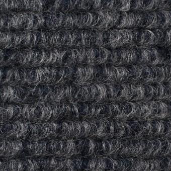 ウール&モヘア混×無地(グレー&ネイビー)×ループニット_イタリア製 サムネイル1