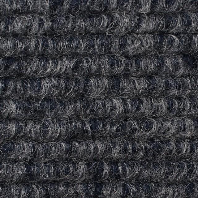 ウール&モヘア混×無地(グレー&ネイビー)×ループニット_イタリア製 イメージ1