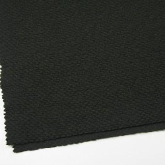 ポリエステル&ウール混×無地(マラカイトグリーン)×ループニット_全2色_イタリア製 サムネイル2