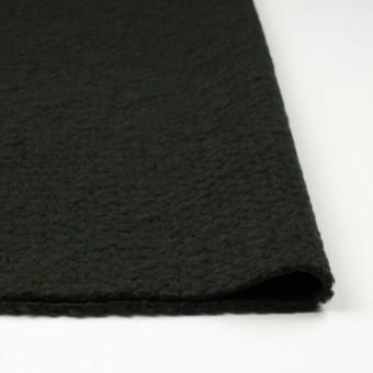 ポリエステル&ウール混×無地(マラカイトグリーン)×ループニット_全2色_イタリア製 サムネイル3