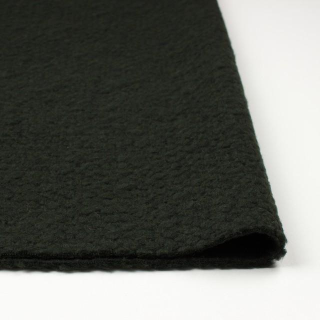 ポリエステル&ウール混×無地(マラカイトグリーン)×ループニット_全2色_イタリア製 イメージ3