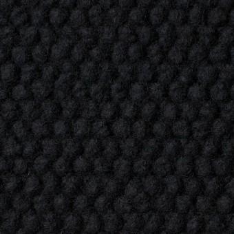 ウール&ポリエステル×無地(ブラック)×ループニット サムネイル1