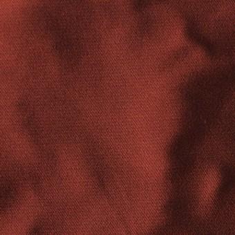 アセテート&ポリエステル×無地(ダークバーミリオン)×形状記憶シャンブレーサージ_全5色