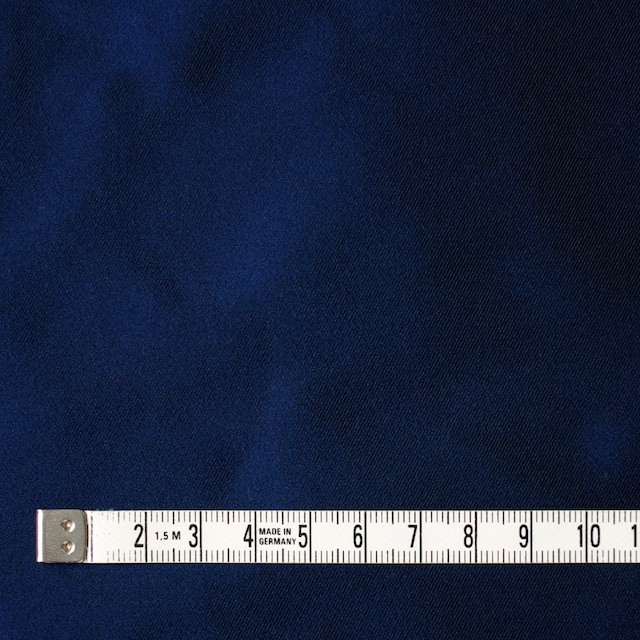 アセテート&ポリエステル×無地(ロイヤルブルー)×形状記憶シャンブレーサージ_全5色 イメージ4