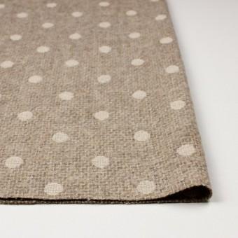 アクリル&ウール混×ドット(オートミール)×ファンシーツイード刺繍_イタリア製 サムネイル3