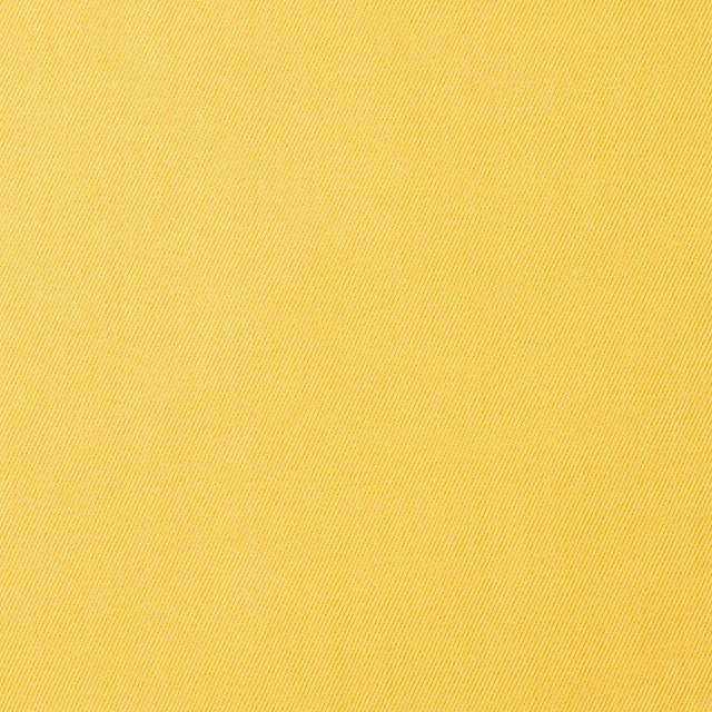 コットン×無地(イエロー)×サージ_全6色(シリーズ1) イメージ1