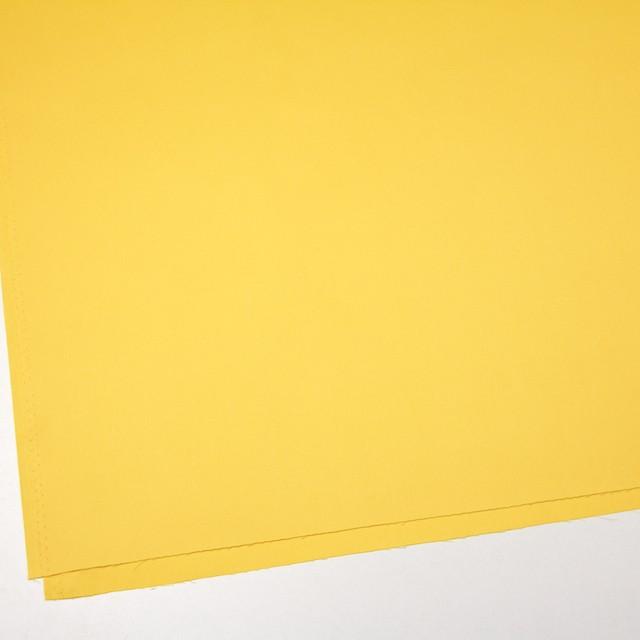 コットン×無地(イエロー)×サージ_全6色(シリーズ1) イメージ2