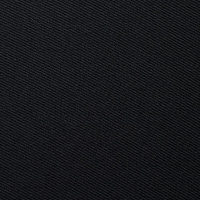 コットン×無地(ブラック)×サージ_全6色(シリーズ1) イメージ1