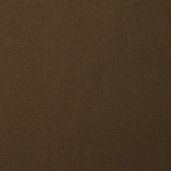 コットン×無地(カーキブラウン)×サージ_全5色(シリーズ2)
