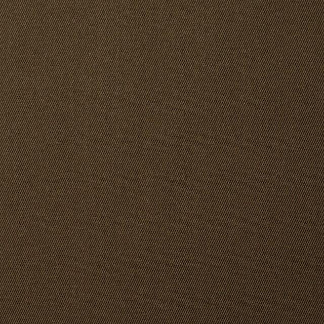 コットン×無地(カーキブラウン)×サージ_全5色(シリーズ2) イメージ1