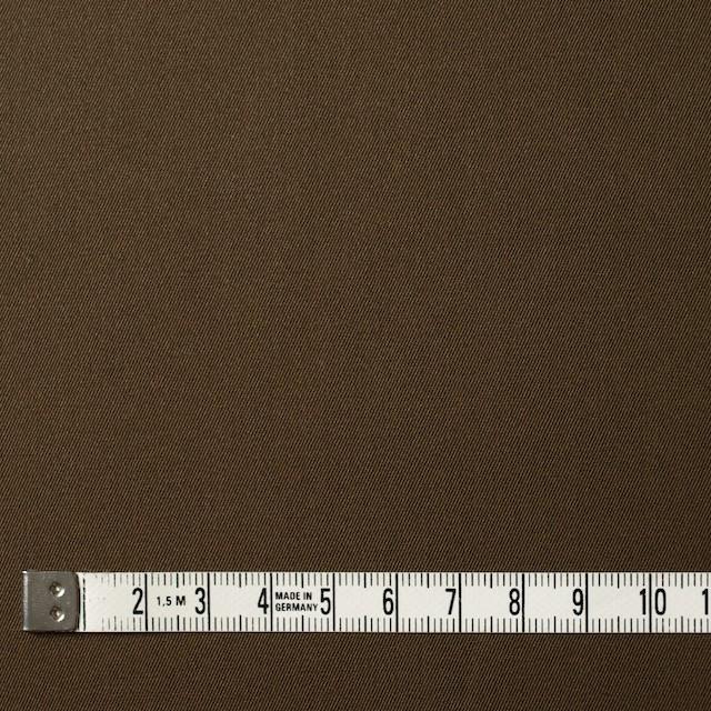 コットン×無地(カーキブラウン)×サージ_全5色(シリーズ2) イメージ4