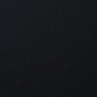 コットン×無地(ブラック)×サージ_全5色(シリーズ2) サムネイル1