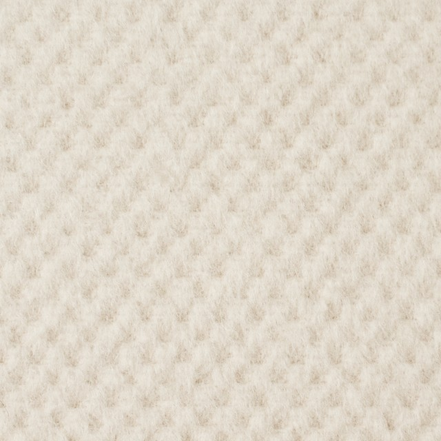 ウール&アンゴラ×無地(アイボリー)×ビーバー イメージ1