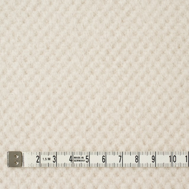 ウール&アンゴラ×無地(アイボリー)×ビーバー イメージ4