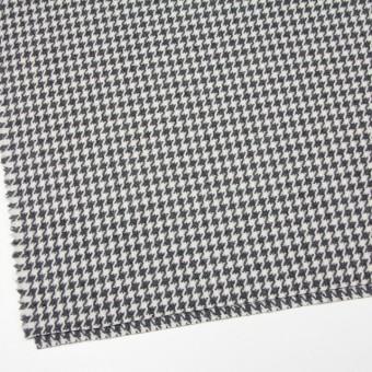 ウール&ナイロン混×チェック(アイボリー&グレー)×千鳥格子 サムネイル2