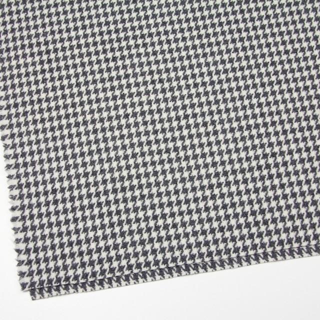 ウール&ナイロン混×チェック(アイボリー&グレー)×千鳥格子 イメージ2
