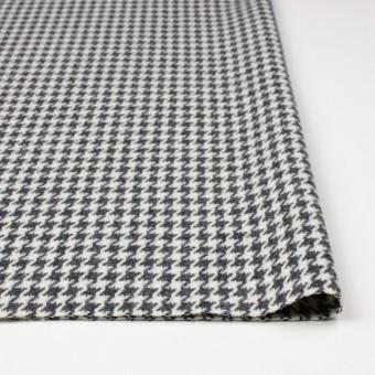 ウール&ナイロン混×チェック(アイボリー&グレー)×千鳥格子 サムネイル3