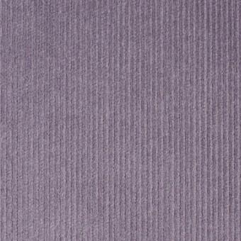 コットン&ポリエステル×無地(グレイッシュパープル)×細コーデュロイ_全4色