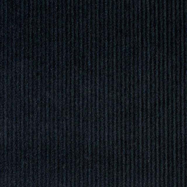 コットン&ポリエステル×無地(チャコールブラック)×細コーデュロイ_全4色 イメージ1