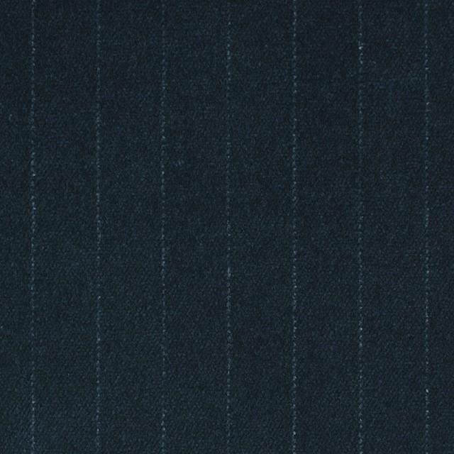 コットン&ポリウレタン×ストライプ(インクブルー)×ベッチン・ストレッチ イメージ1