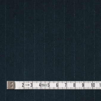 コットン&ポリウレタン×ストライプ(インクブルー)×ベッチン・ストレッチ サムネイル4