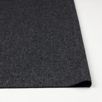 ウール&ナイロン混×無地(チャコールグレー)×ヘリンボーン・ストレッチ_全3色 サムネイル3