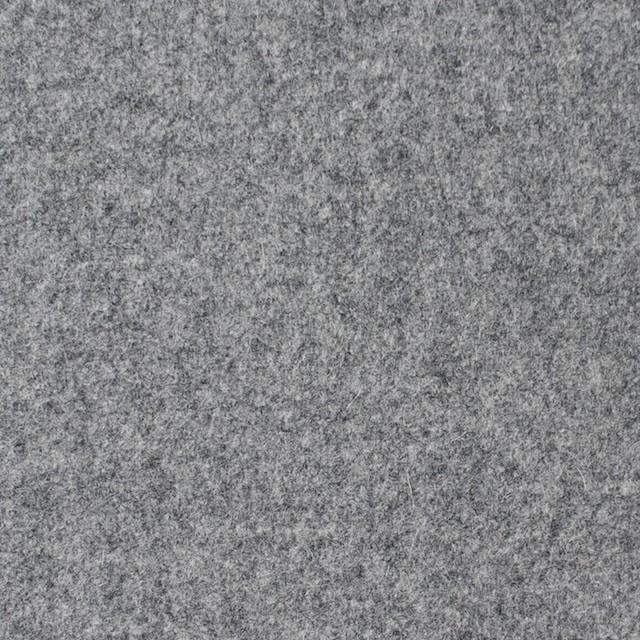 ウール&ナイロン混×無地(グレー)×フラノ・ストレッチ(フランネル) イメージ1