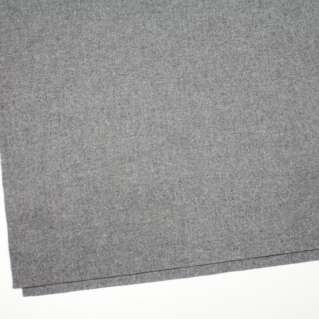 ウール&ナイロン混×無地(グレー)×フラノ・ストレッチ(フランネル) イメージ2