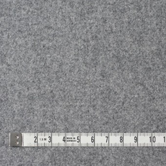 ウール&ナイロン混×無地(グレー)×フラノ・ストレッチ(フランネル) サムネイル4