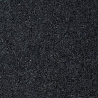 ウール×無地(チャコールグレー)×圧縮Wニット