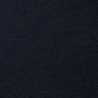 ウール×無地(ダークネイビー)×圧縮Wニット_全3色