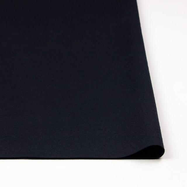 ウール×無地(ダークネイビー)×圧縮Wニット_全3色 イメージ3
