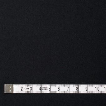 ウール×無地(ブラック)×サージ サムネイル4